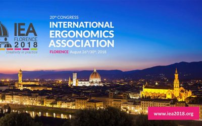 IEA International Ergonomics Association 2018 – 20° CONGRESSO INTERNAZIONALE A FIRENZE